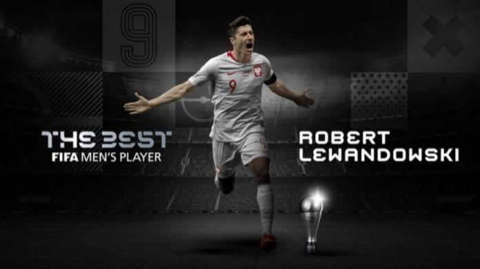 Robert Lewandowski është më i miri
