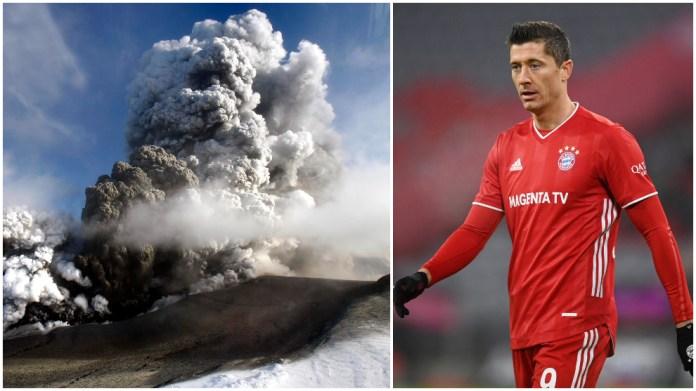 Shpërthimi vullkanik që ndryshoi karrierën e Robert Lewandowski