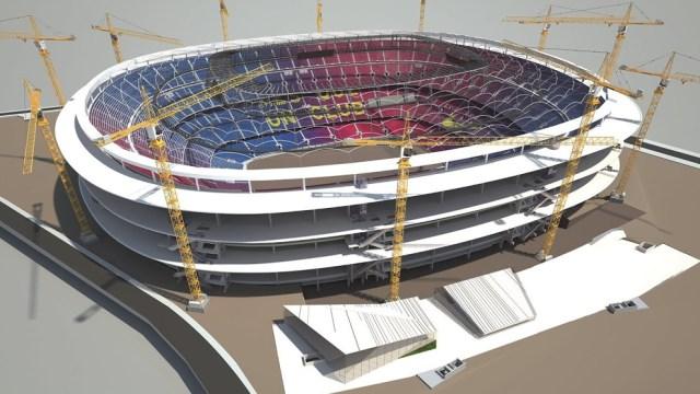 """Benedito propone """"tirar al suelo el Camp Nou"""" para construir un estadio nuevo"""