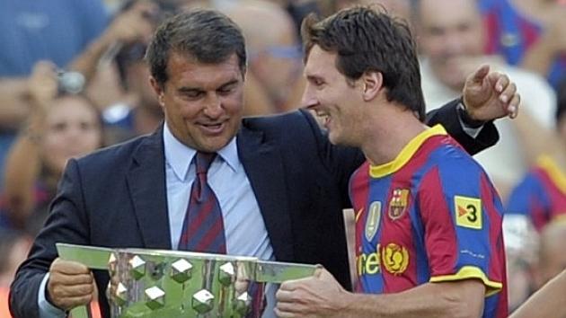 Laporta: Nëse Messi refuzon rinovimin e kontratës, Barcelona do të lëvizë përpara