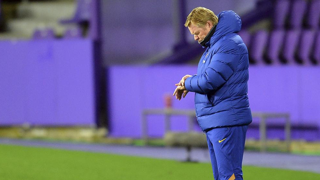 Koeman kontrollon orën e tij kundër Valladolid