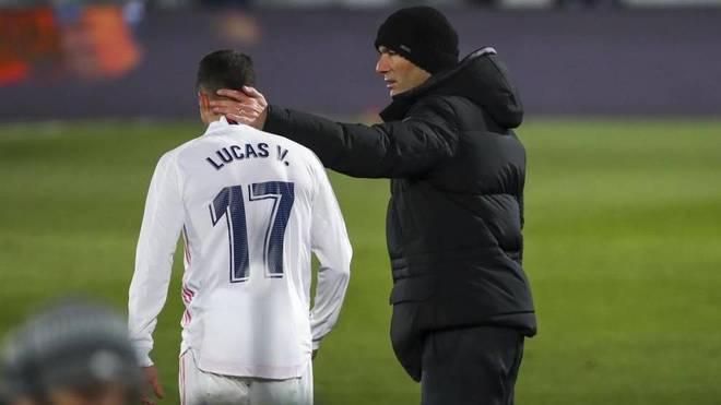 Lucas Vazquez dhe Zidane