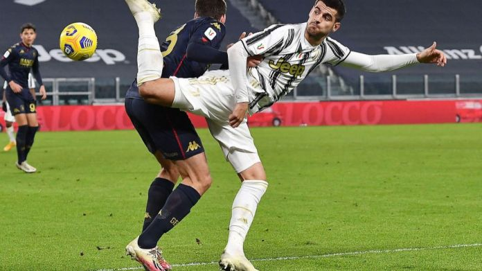 Morata me Juventusin.