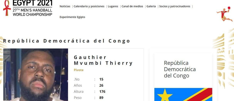 handball dr congo pivot gauthier
