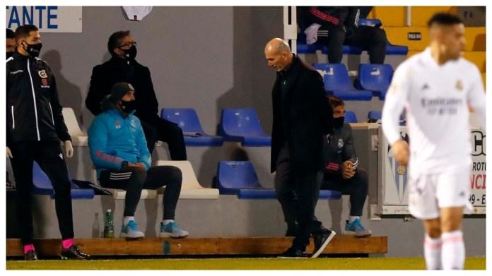 Zidane kundër Alcoyano.