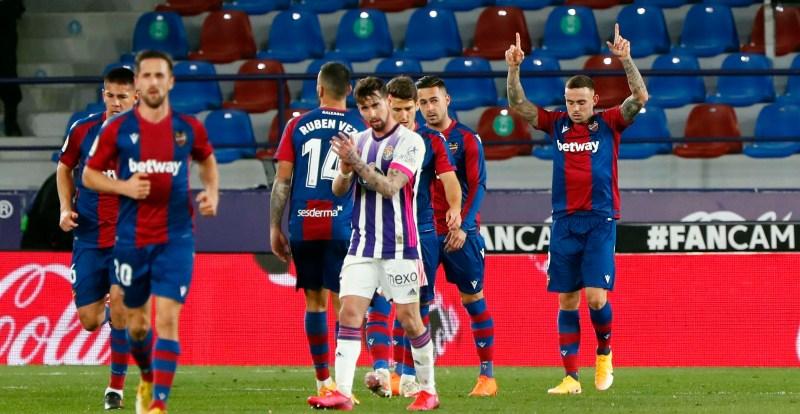 Levante - Valladolid: resumen, resultado y goles   La Liga Santander