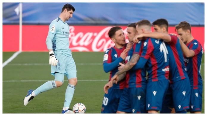 Levante ishte skuadra e fundit që gëzoi ndaj Madridit
