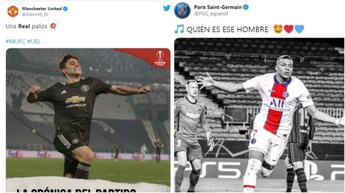 PSG dhe Manchester United këndojnë te Barcelona dhe Real Sociedad