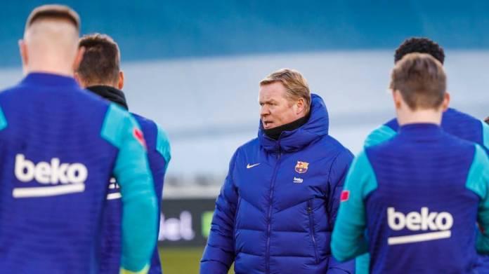 Lista e skuadrës së Barcelonës: Koeman thërret të njëjtët lojtarë për Cadiz si ai që bëri kundër PSG