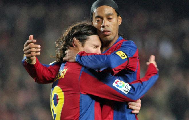Messi dhe Ronaldinho