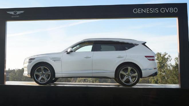 A Genesis GV80 como el que conduc