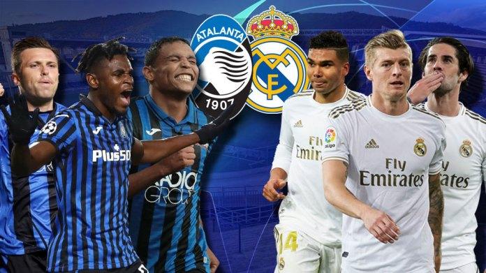 Atalanta vs Real Madrid LIVE: Rezultati dhe azhurnimet më të fundit