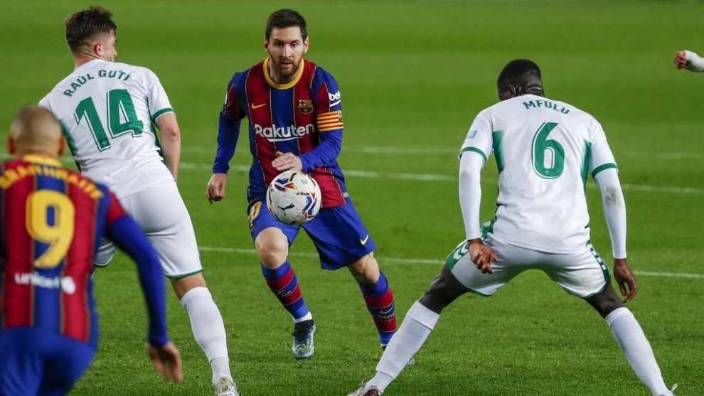 Barcelona vs Elche - LaLiga Santander: Barcelona ratings vs Elche: Trincao  also lacks a clinical finish | MARCA in English