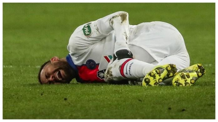 Neymar u dëmtua kundër Caen.