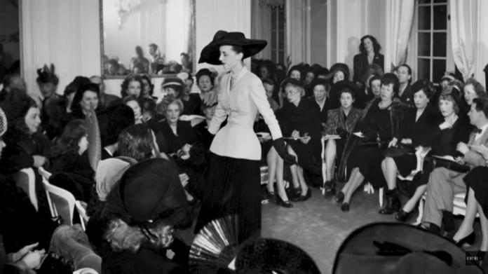 The 12 of February 1947 was the first fashion show of Dior, in the n