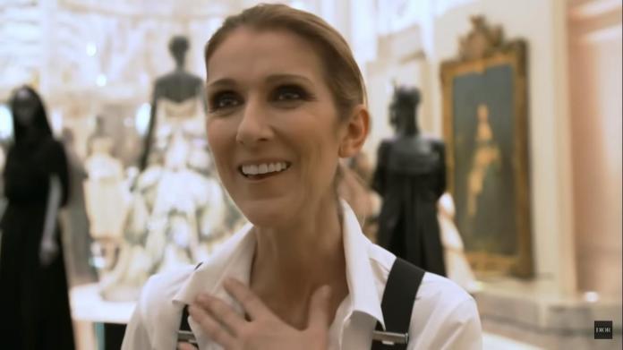 Celine Dion visit