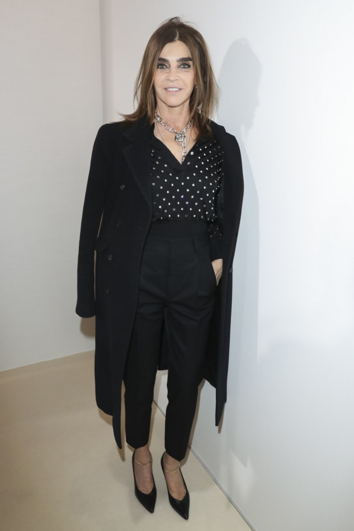 Carine Roitfeld to their 65 to
