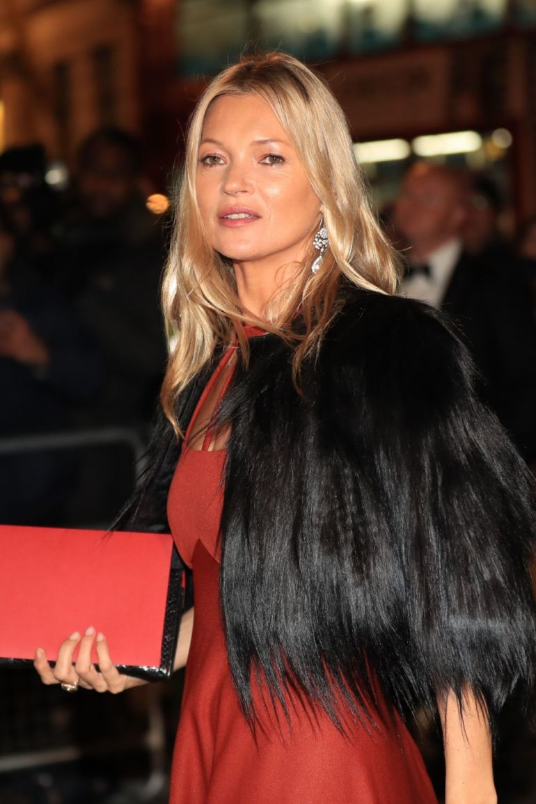 Hair with movement and highlights like Kate Moss always rejuvenate.