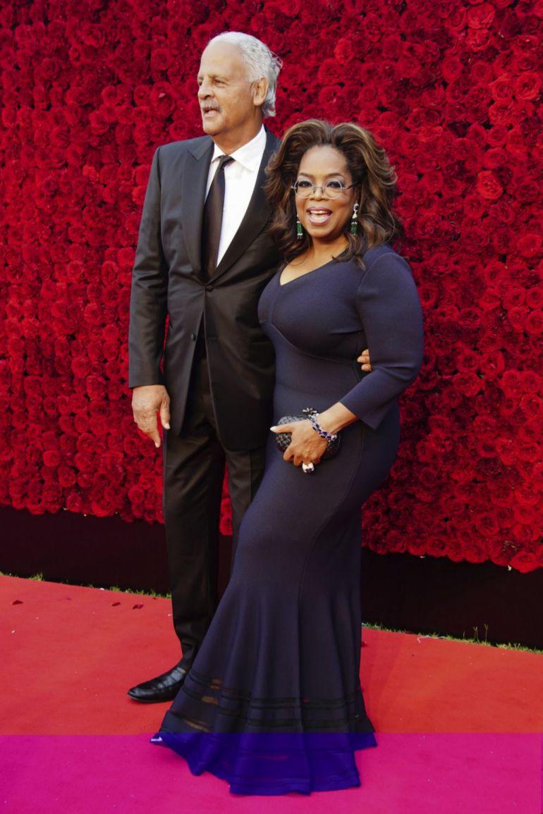 Oprah y Stedman and 2019.