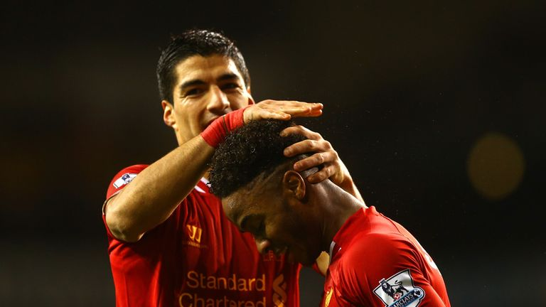Sterling enjoyed a fine 2013/14 season with Luis Suarez