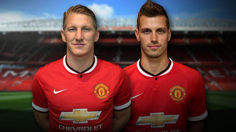 Manchester United Sign Bastian Schweinsteiger And Morgan