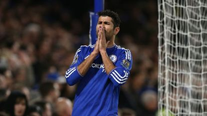 Diego Costa will be available to face Newcastle despite a broken nose