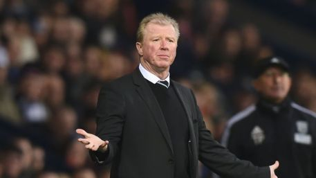 Steve McClaren took training on Tuesday after a scheduled day off on Monday