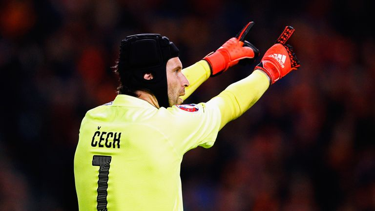 Petr Cech is likely to start for Czech Republic