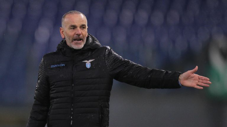 Stefano Pioli has left Lazio after nearly two seasons in charge
