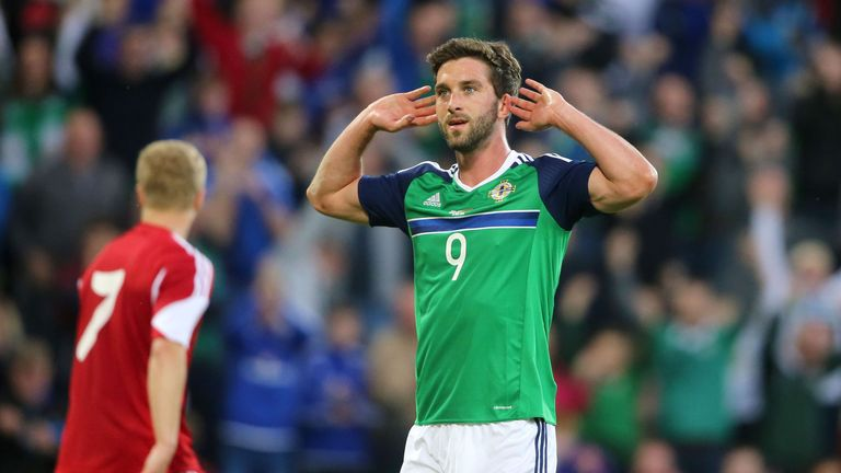 Will Grigg's on fire - and he's made the cut for Northern Ireland