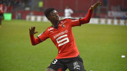 Ousmane Dembele was award the Ligue 1 Young Player of the Year award