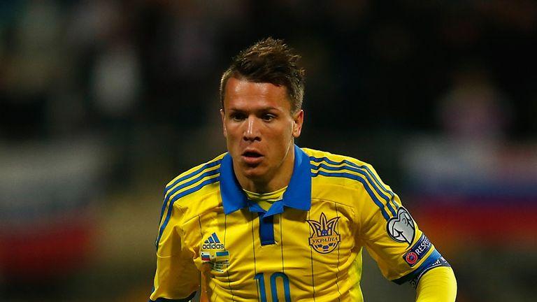 Ukraine's Yevhen Konoplyanka won the Europa League with Sevilla in May
