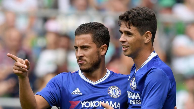 Eden Hazard and Oscar are expected to start against West Ham