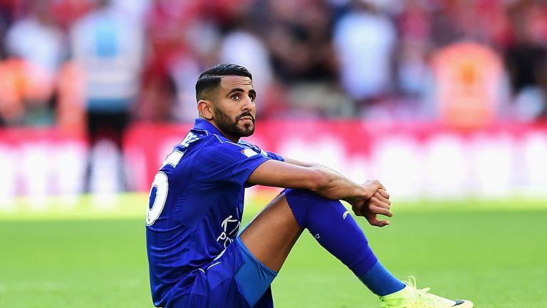 Mahrez has scored just once in seven Premier League appearances this season