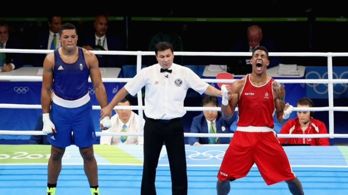 Yoka defeated Briton Joyce to win gold in 2016