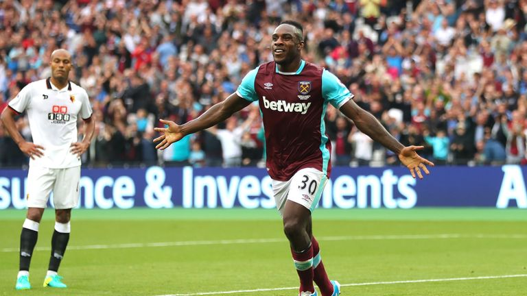 Michail Antonio retains his place in the England squad