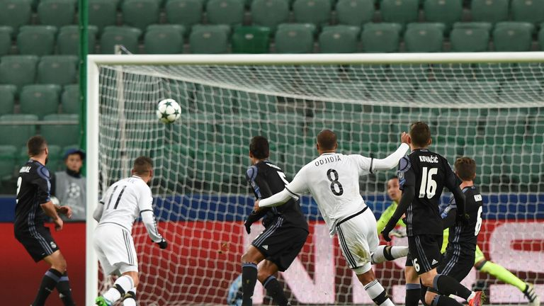 Legia Warsaw held Real Madrid to a 3-3 draw