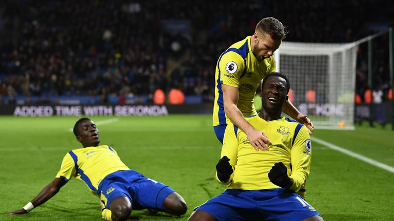 Romelu Lukaku secured victory for Everton at Leicester