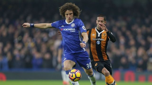 David Luiz is back at Chelsea following his world-record departure from Stamford Bridge in 2014