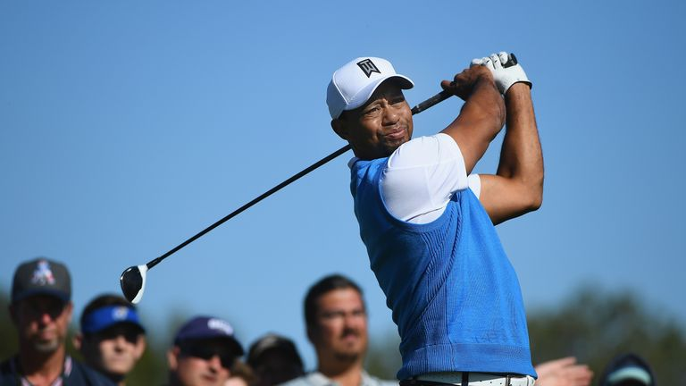 tiger woods fires erratic 76 on return to pga tour at