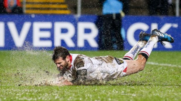 Jared Payne made 78 appearances for Ulster