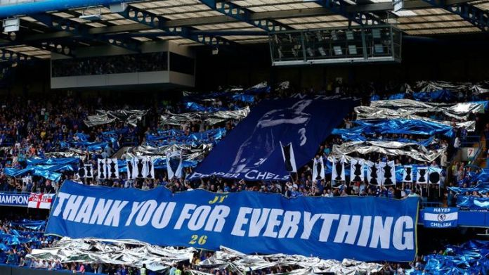 Terry was emotional after the support he received from fans before, during and after the clash with Sunderland