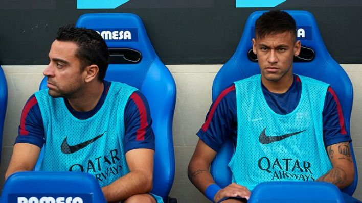 Image result for xavi and neymar