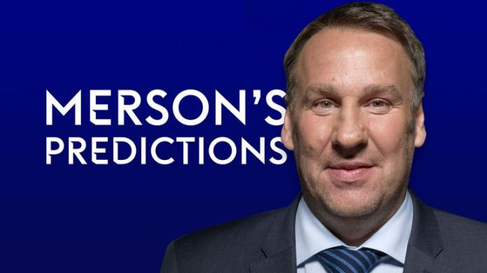 Predictions by Paul Merson in the Premier League