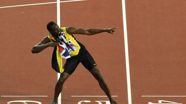Bolt is an eight-time Olympic gold medallist