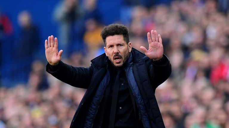 Everton Target Diego Simeone Is Untouchable Says