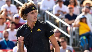 Alexander Zverev has won two Masters 1000 titles this year