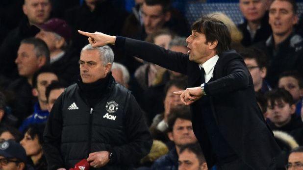 Mourinho's United were beaten 4-0 by Chelsea
