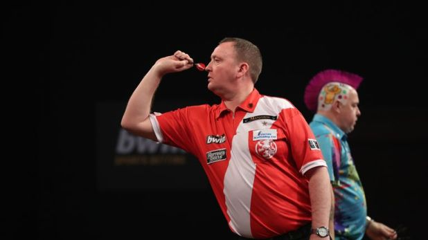 Durrant played Peter Wright last year