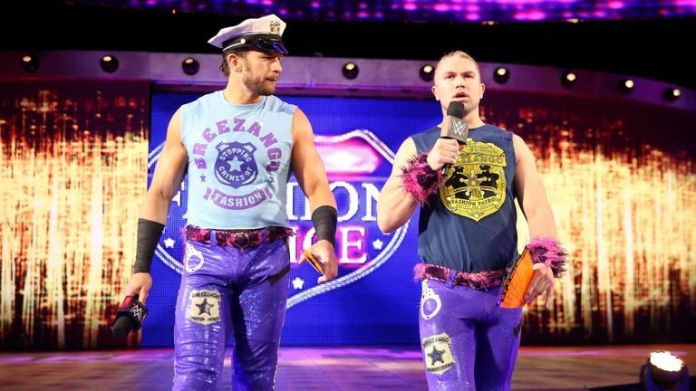 Breezango were beaten by the Bludgeon Brothers in a quick match at Clash of Champions